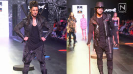Vidyut Jammwal and Ali Fazal Turn Warriors for Asa Kazingmei at Lakme Fashion Week WF 2017