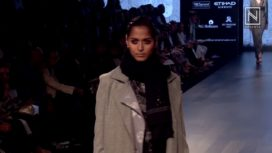 Deepak Pathak at Lakme Fashion Week Winter Festive 2017