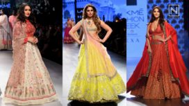 Top Ten Lehengas From Lakme Fashion Week Winter Festive 2017
