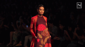 Sukhavati by Vineet Rahul at Lakme Fashion Week Winter Festive 2017