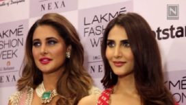 Designers and their Showstoppers-Vaani Kapoor and Nargis Fakhri