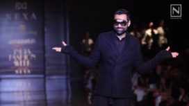 Abhay Deol Walks for Rajesh Pratap Singh at Amazon India Fashion Week SS 2018