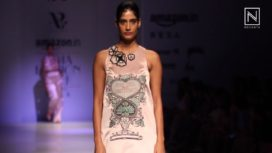 Archana Rao showcases at Amazon India Fashion Week Spring Summer 2018