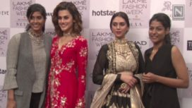 Designers and their Showstoppers-Taapsee Pannu and Aditi Rao Hydari
