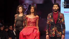 Narendra Kumar Showcases at Bangalore Times Fashion Week 2017