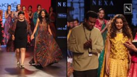 Designers and their Showstoppers-Radhika Apte and Sarah Jane Dias