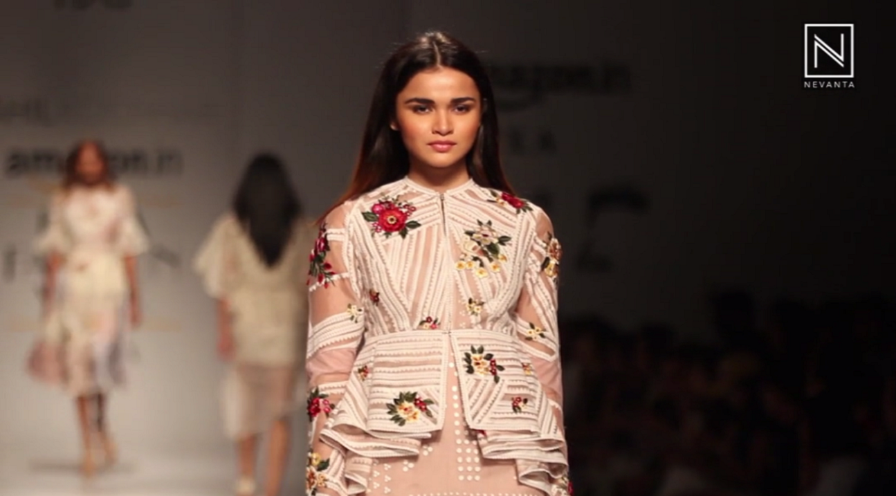 Fashion Week Beauty 2018: Rooh By Sahil Kochhar At Amazon India Fashion Week Spring