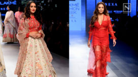 Designers and their Showstoppers-Malaika Arora and Shraddha Kapoor