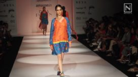 Anupamaa Dayal at Amazon India Fashion Week Spring Summer 2018