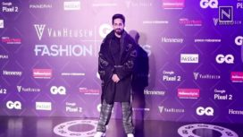 Ayushmann Khurrana Walks for Sahil Aneja at GQ Fashion Nights 2017