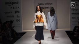 Dhruv Kapoor at Amazon India Fashion Week Spring Summer 2018
