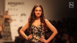 Divya Khosla Kumar Celebrated Womanhood at Amazon India Fashion Week SS 2018 2017