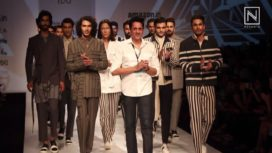 Pawan Sachdeva at Amazon India Fashion Week Spring Summer 2018