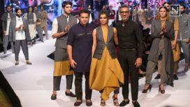 Radhika Apte Walks for Shantanu & Nikhil at GQ Fashion Nights 2017