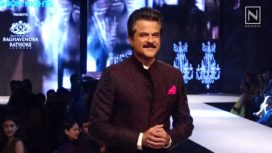 Anil Kapoor Walks The Ramp for Raghavendra Rathore at GQ Fashion Nights 2017