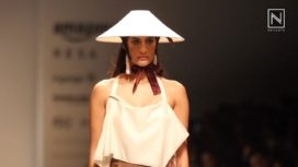 Sulakshana Monga at Amazon India Fashion Week Spring Summer 2018
