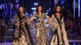 Suneet Varma adds Grandeur to the Grand Finale of Amazon India Fashion Week SS 18