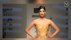 Abhi Singh at Amazon India Fashion Week Spring Summer 2018