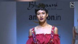 Bhanuni By Jyoti at Amazon India Fashion Week Spring Summer 2018