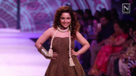Chitrashi Rawat Walks for Amin Farista at Pune Fashion Week 2017