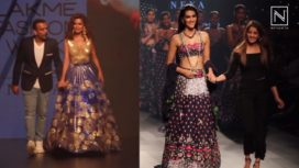 Designers and their Showstoppers-Kriti Sanon and Esha Gupta