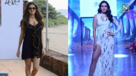 Designers and their Showstoppers-Waluscha De Sousa and Nidhhi Agerwal