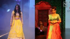 Designers and their Showstoppers- Ragini Dwivedi and Saina Nehwal