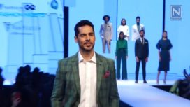 Dino Morea Walks for Van Heusen at GQ Fashion Nights 2017