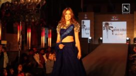 Kriti Kharbanda Turns Showstopper for Ramesh Dembla at Fashionable One