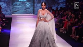 Nia Sharma Walks for Kirti Agarwal at Pune Fashion Week 2017