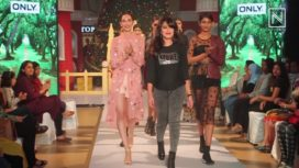 Nidhi Subbaiah Walks at Orion Fashion Week 2017