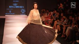 Rina Dhaka Showcases on Day 1 of Pune Fashion Week 2017