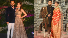 What did Anushka Sharma and Virat Kohli Wear for their Receptions?