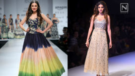 Designers and their Showstoppers- Nidhhi Agerwal & Divya Khosla Kumar