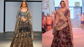Designers and their Showstoppers-Kiara Advani and Evelyn Sharma