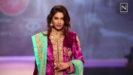 Lopamudra Raut and Noyonita Lodh Turn Showstoppers for Ashok Maanay at Pune Fashion Week 2017