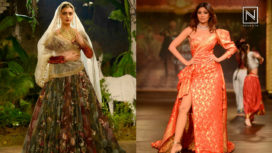 Designers and their Showstoppers-Shilpa Shetty and Dia Mirza