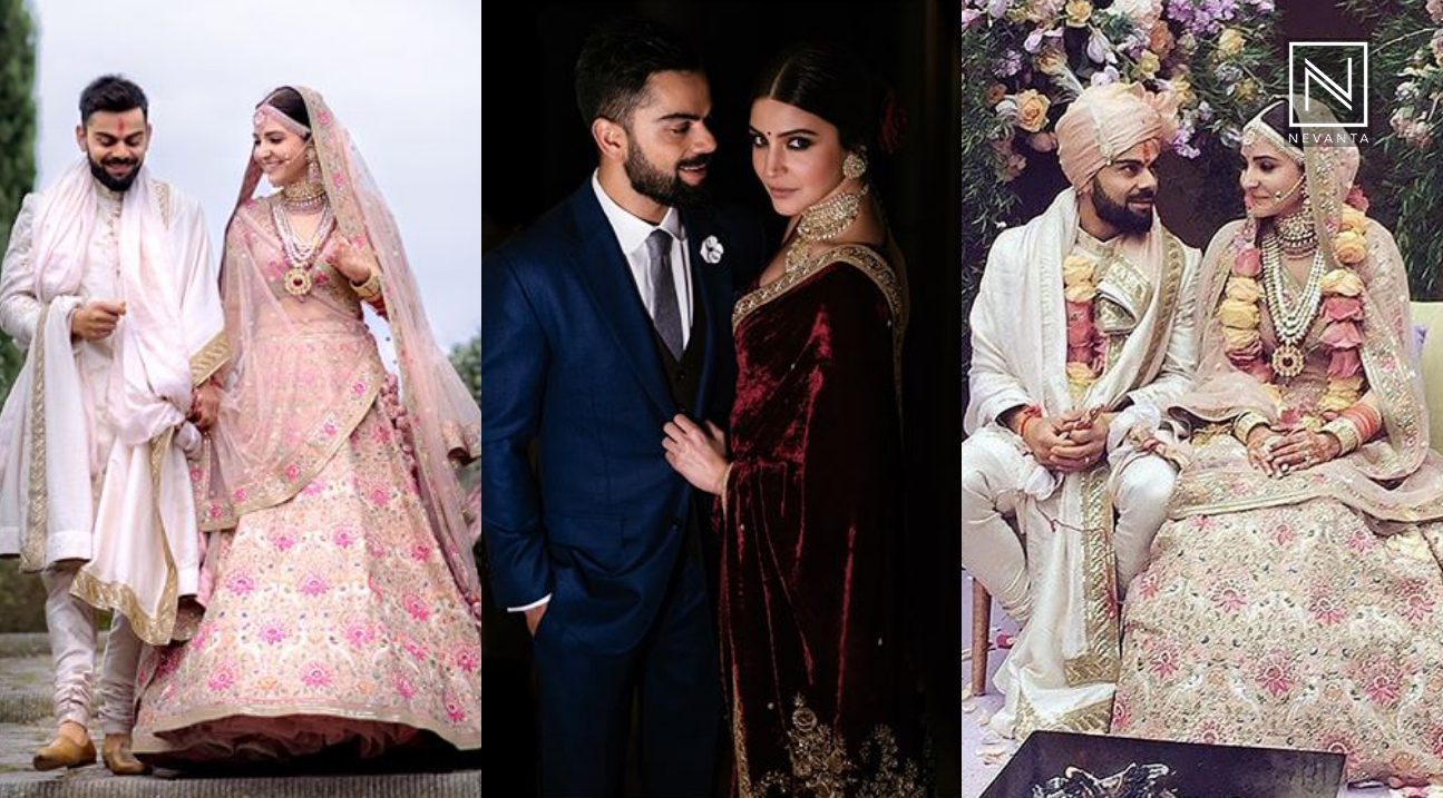 Pics of virat kohli wedding
