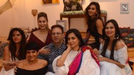 Celeb Fashion at Shaheen Abbas Jewellery Launch