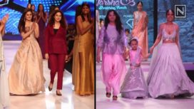 Designers and their Showstoppers-Nia Sharma and Rashami Desai
