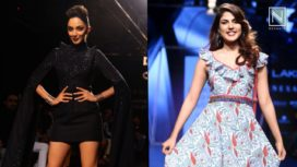 Designers and their Showstoppers-Kiara Advani and Rhea Chakraborty