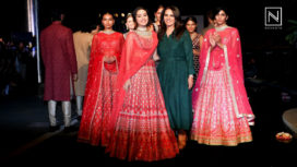 Shraddha Kapoor Walks for Anita Dongre at The Wedding Junction 2018