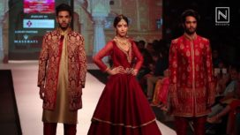 Sumit Das Gupta Showcase at Pune Fashion Week 2017