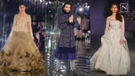 Designers and their Showstoppers-Aditi Rao Hydari, Alia Bhatt and Ranveer Singh