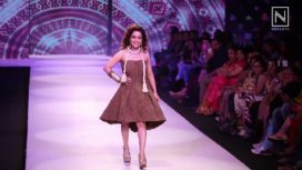 Chitrashi Rawat Turns Muse For Amin Farista at Pune Fashion Week 2017