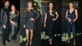 Fashion with Bollywood Celebs at Mickey Contractor Party