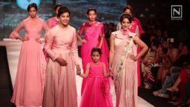 Rutuja Shinde Turns Muse For Shikha Kothari at Pune Fashion Week 2017