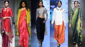 Lookback 2017- Top 10 Indo Western Trends