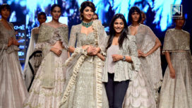 Shilpa Shetty Kundra Turns Bride for Jayanti Reddy at Lakme Fashion Week SR 18