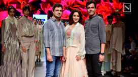 Tisca Chopra Walks The Ramp for Vineet Rahul at Lakme Fashion Week Summer Resort 2018